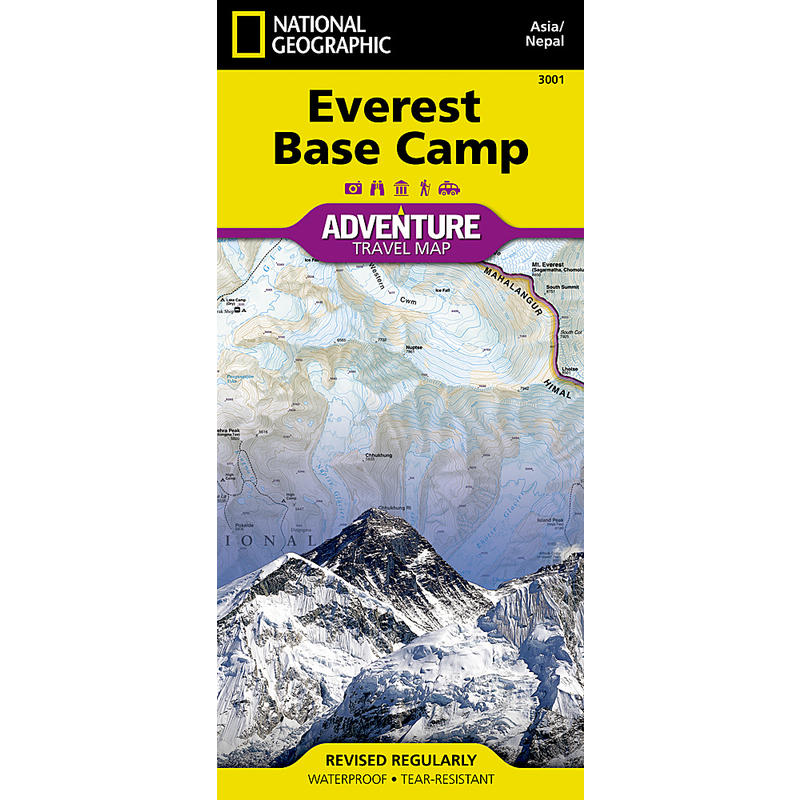 Everest Base Camp Adventure Map