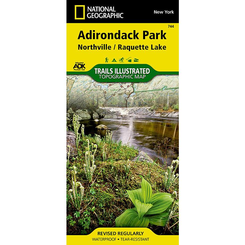Adirondak Park Lake Northville/Raquette Lake 744