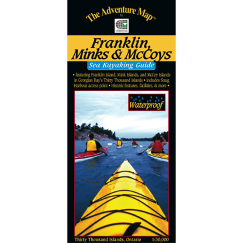 Franklin Mink& McCoy Islands Sea Kayaking Map