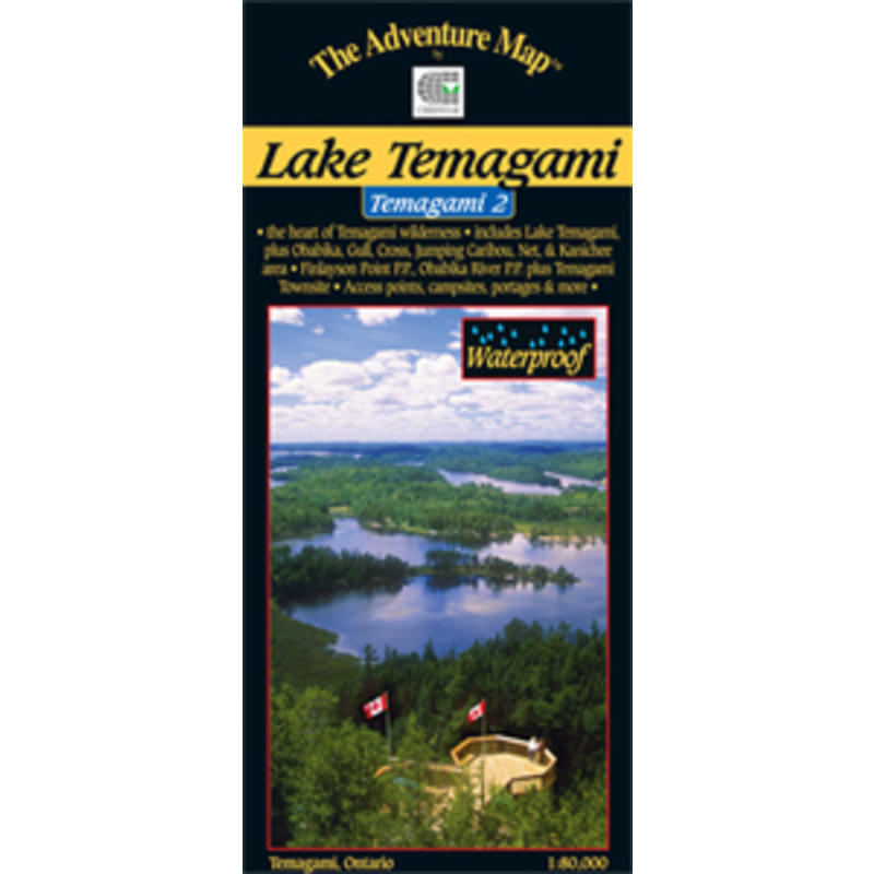 Temagami 2 - Lake Temagami Map