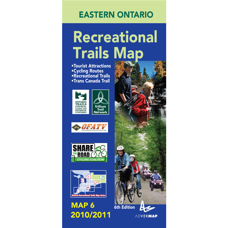 Eastern Ontario Recreation Map 6