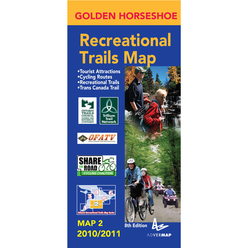 Golden Horseshoe Recreational Map 2