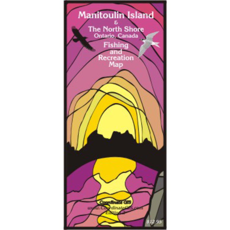 Manitoulin Island and North Shore Map
