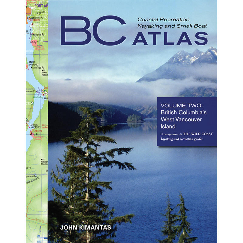 BC Coastal Recreation Kayak Boat Atlas Volume 2