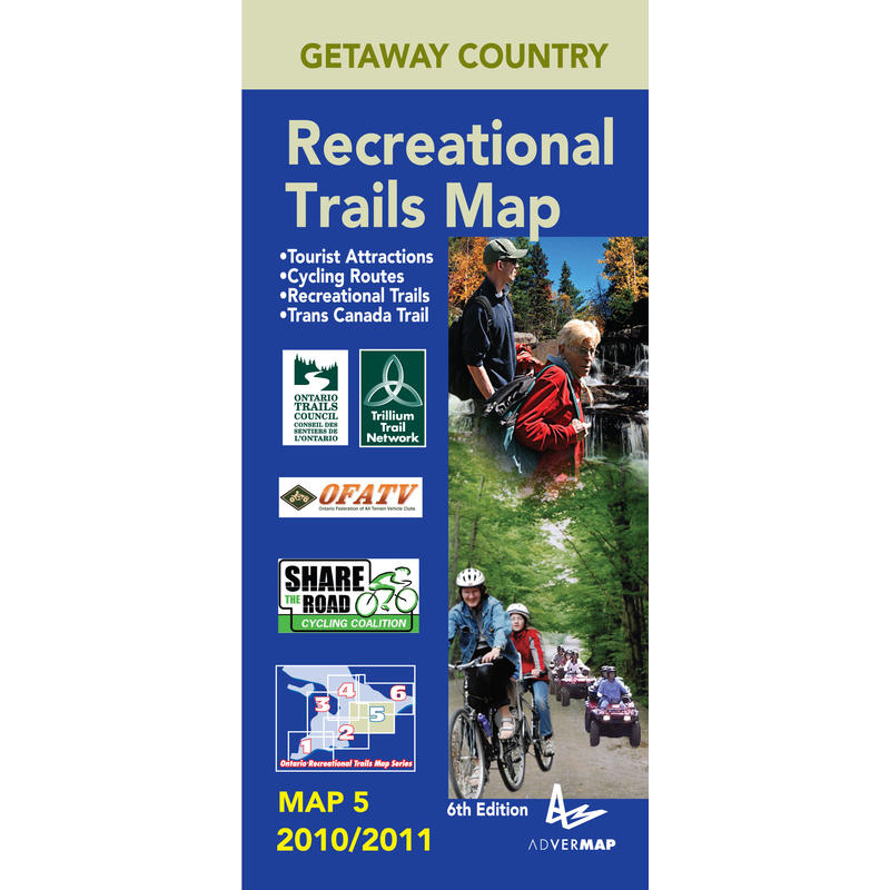 Getaway Country Recreational Trails Map 5