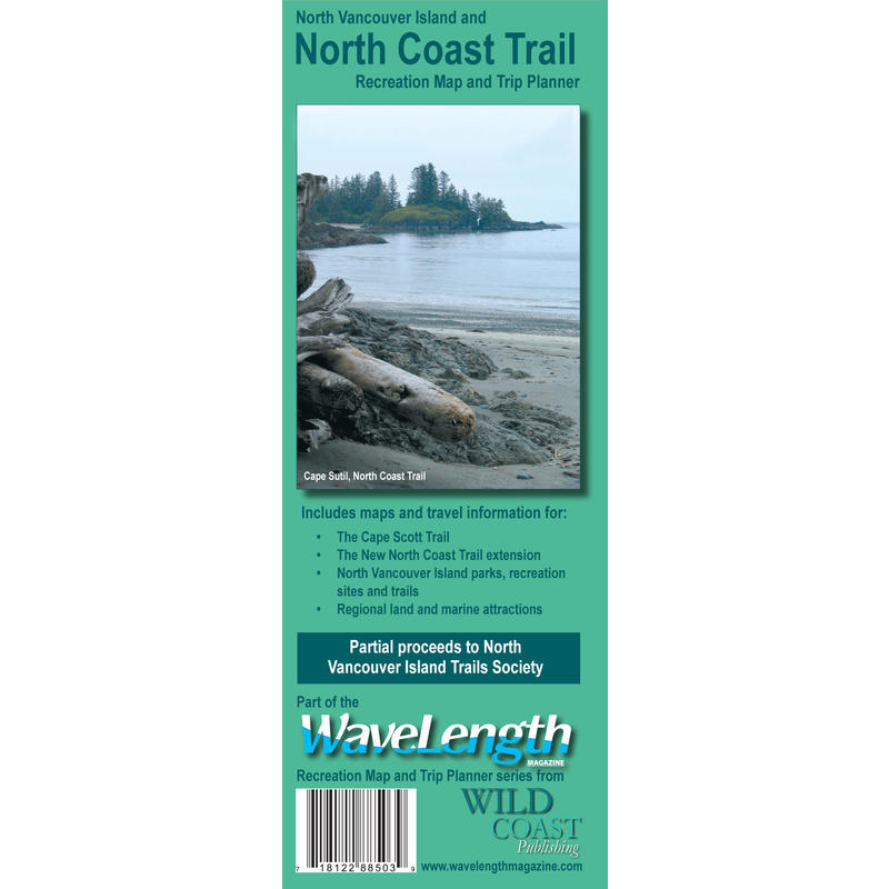 North Coast Trail Map and Pocket Guide