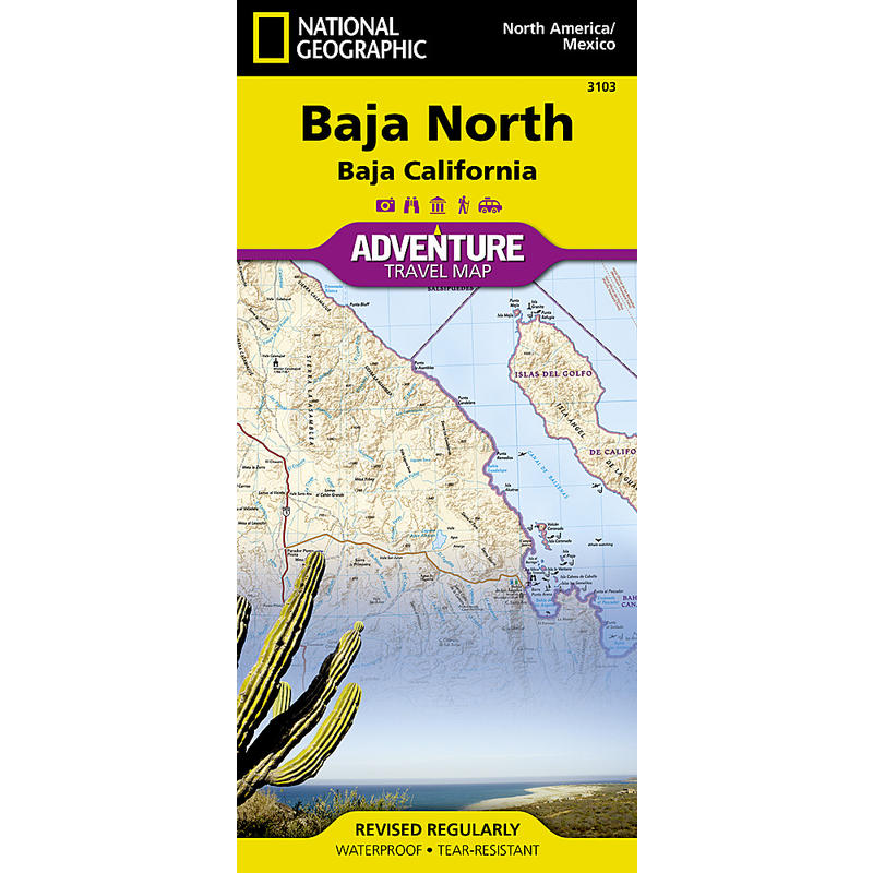 Baja California (Baja North) Map