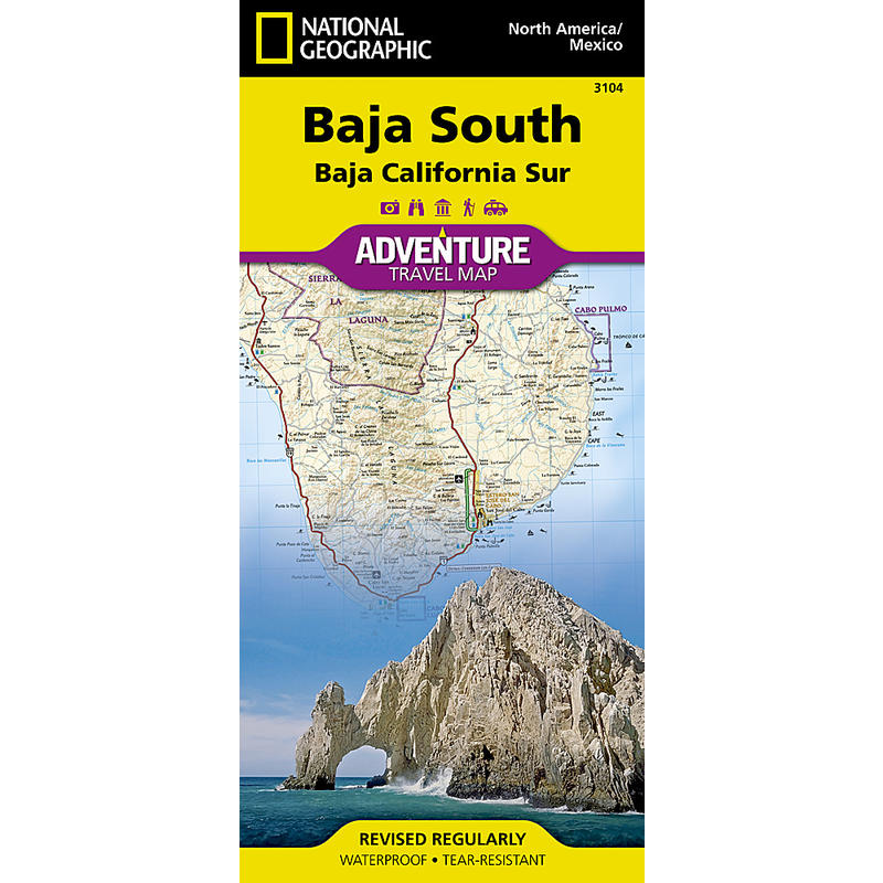 Baja California (Baja South) Map