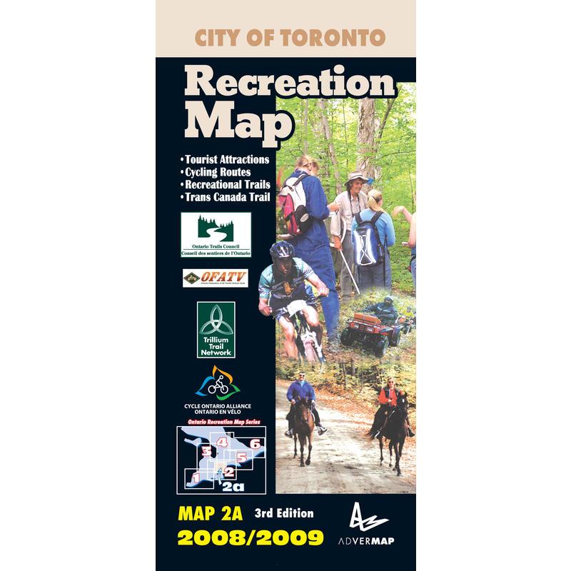 City of Toronto Recreation Map