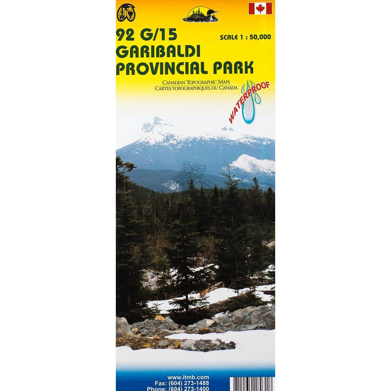 92G15-Garibaldi Provincial Park