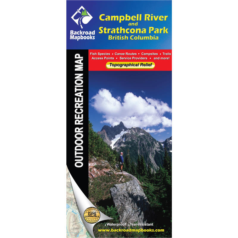 Campbell River& Strathcona Park Map (1st Ed)