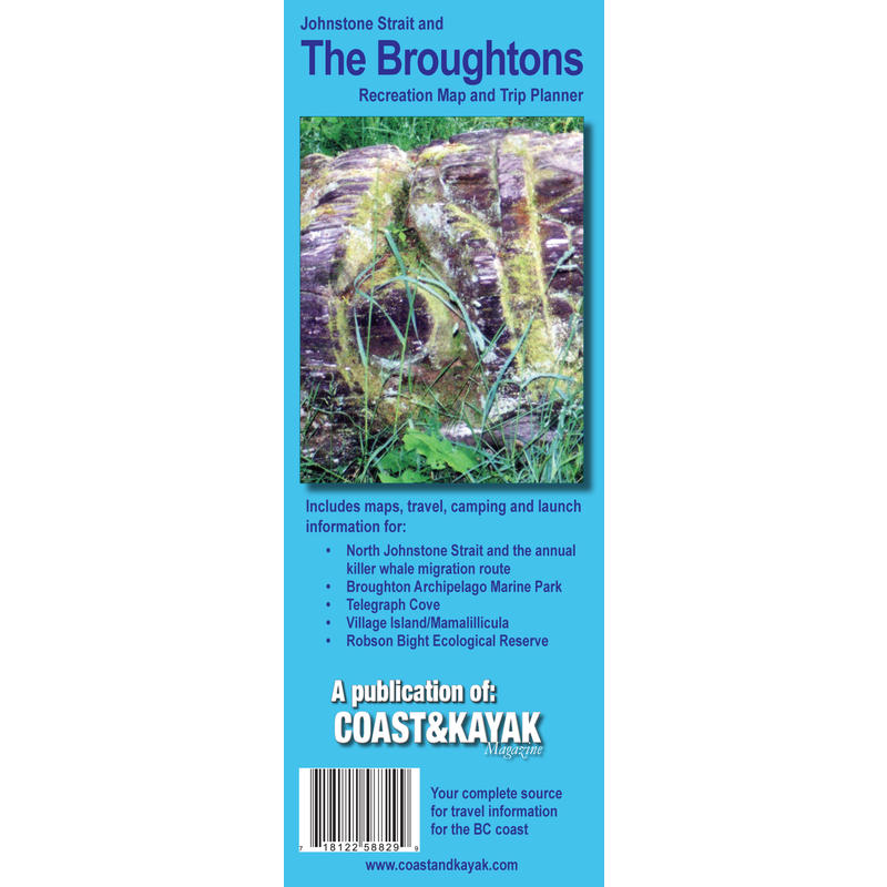 Broughtons / Johnstone Strait Map