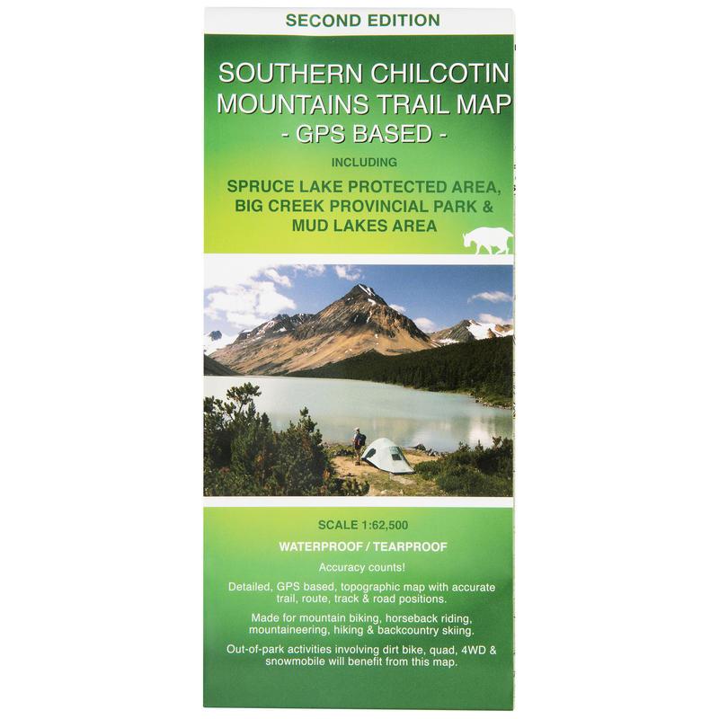 Southern Chilcotin Mountains TrailMap 2e édition