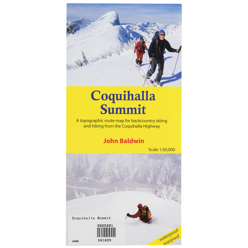 Coquihalla Summit Map