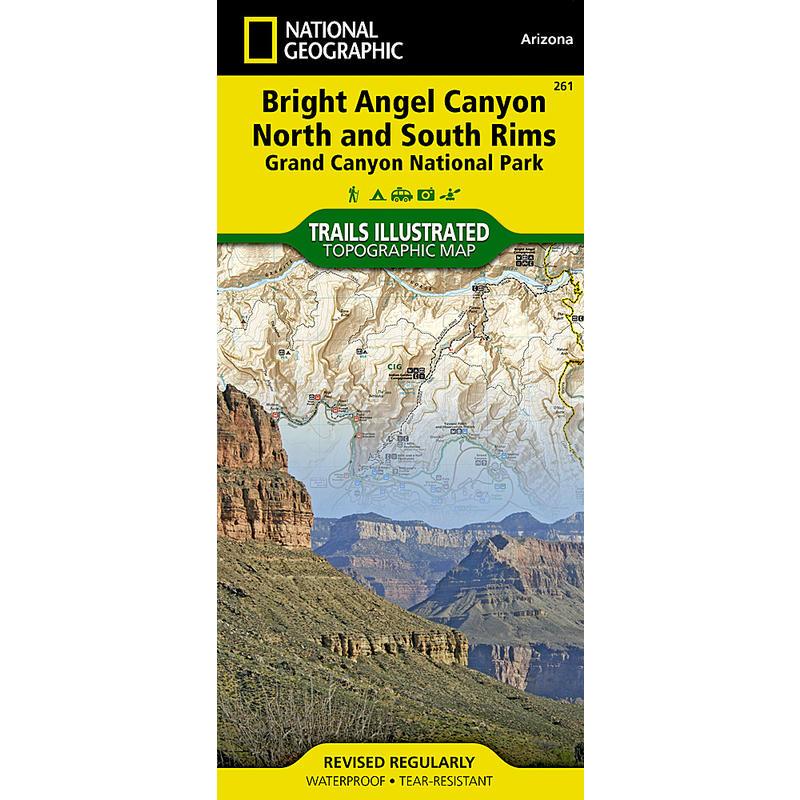 Grand Canyon, Bright Angel Canyon/North&South Rims