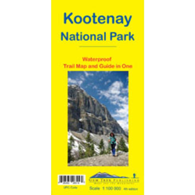 Kootenay National Park Map Revised