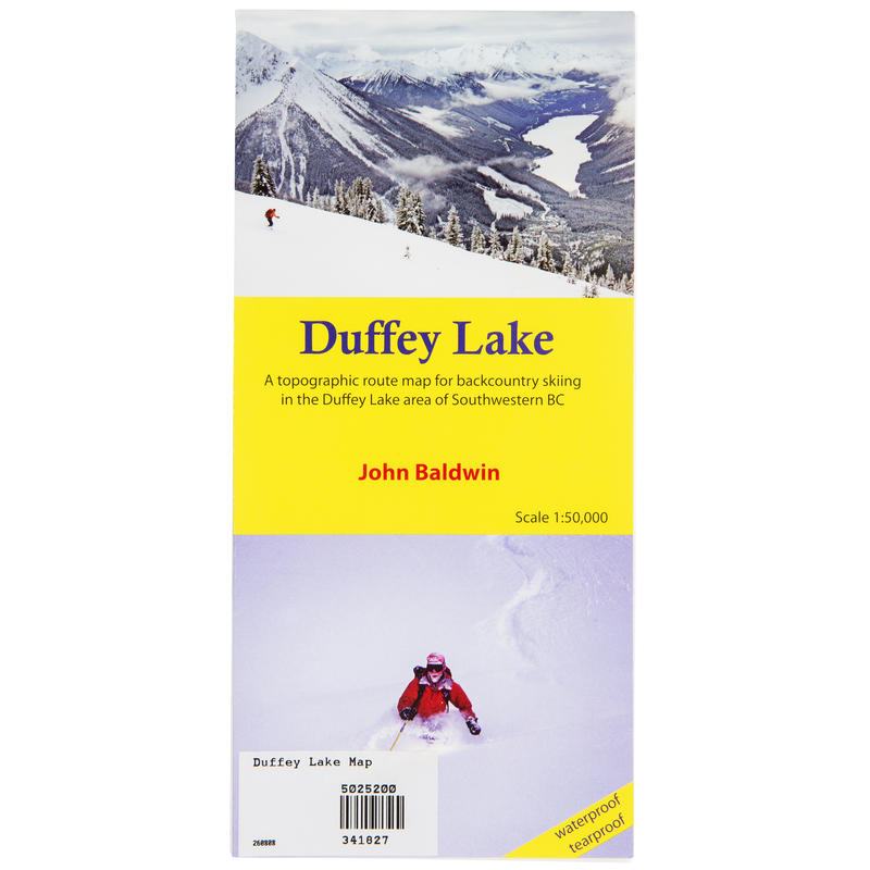 Duffey Lake Map