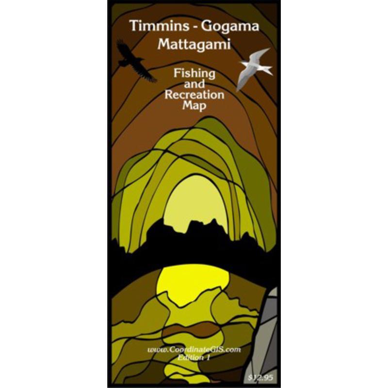 Timmins-Gogama Mattagami Map