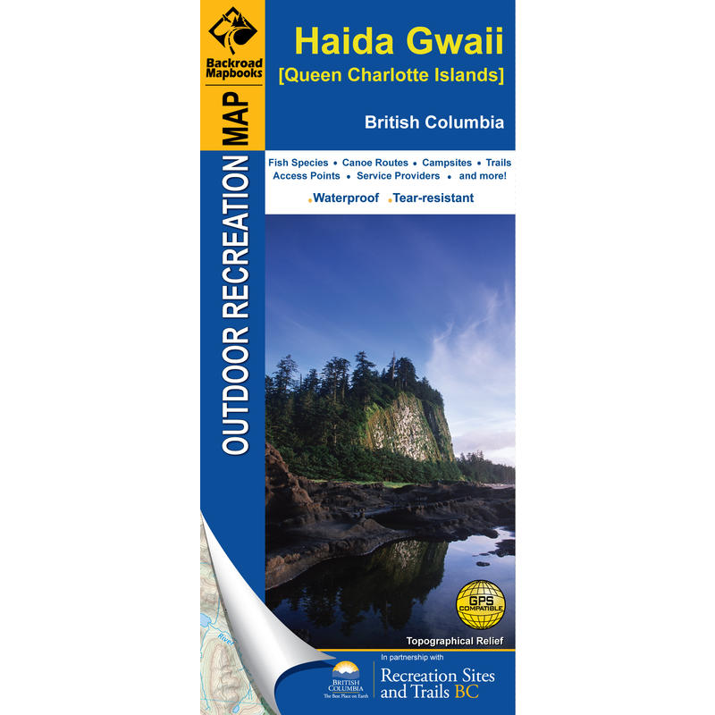 Haida Gwaii BC (Queen Charlotte Islands) Map