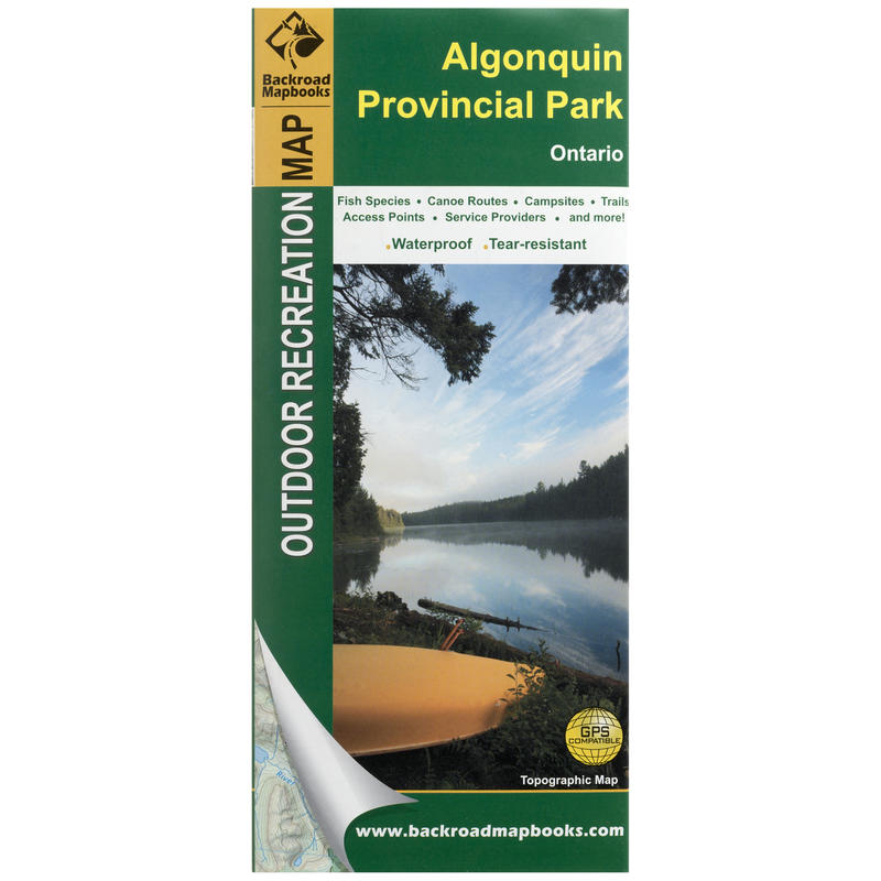 Algonquin Park Outdoor Recreational Map 3rd Ed.