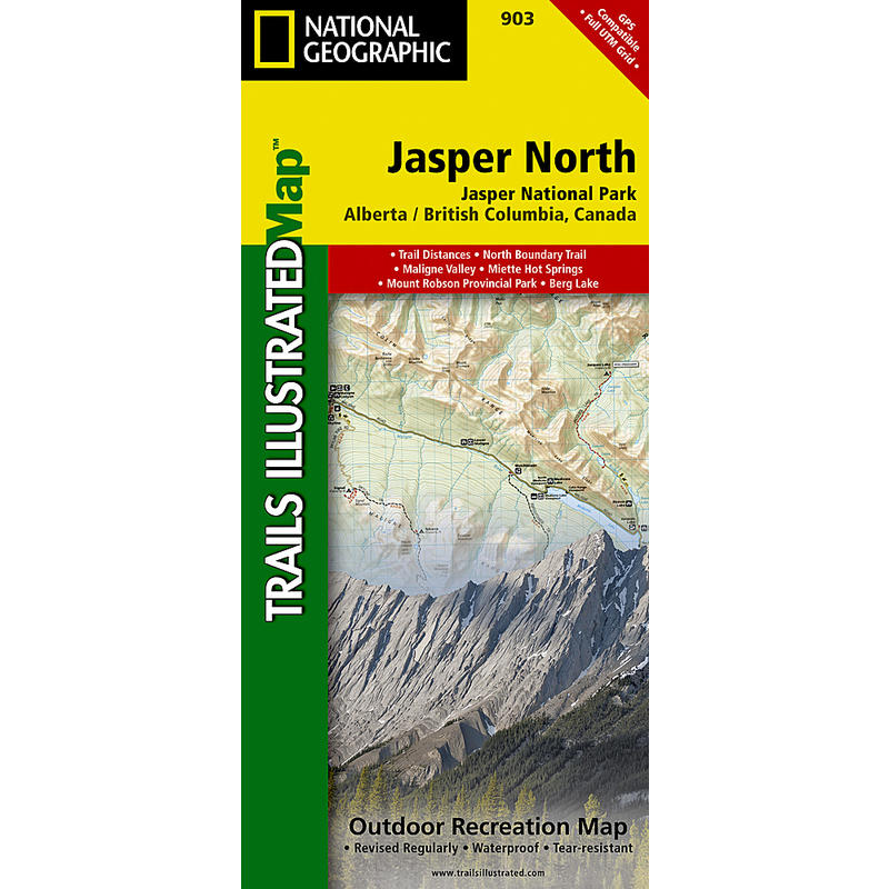 Jasper North Map