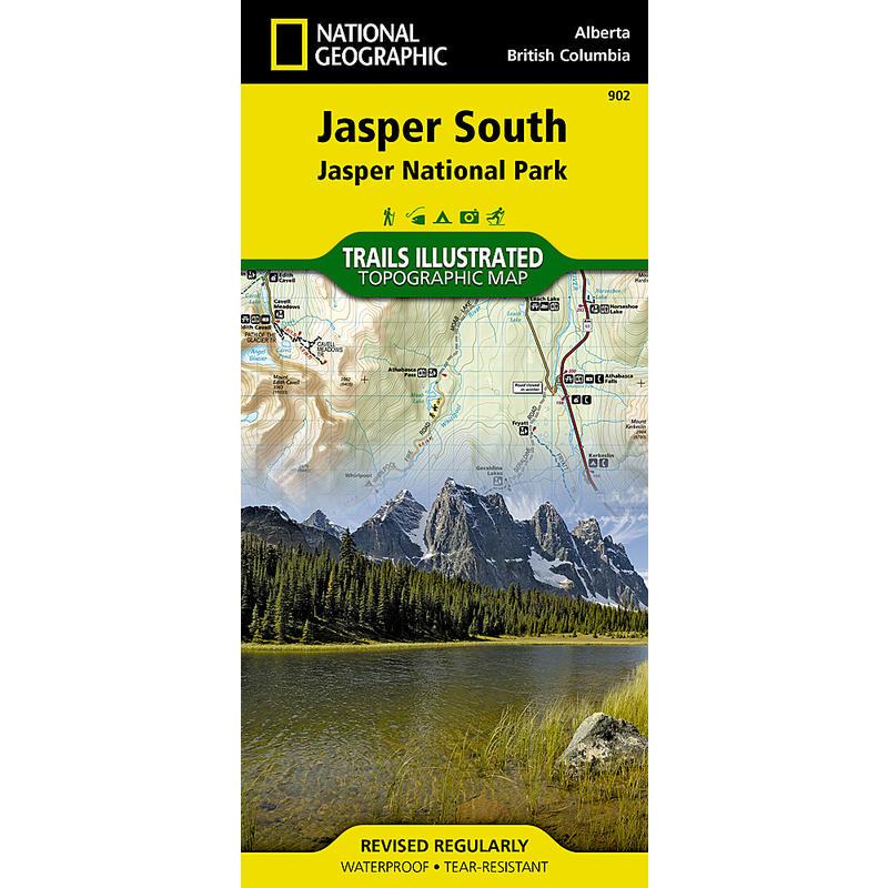 Jasper South Map
