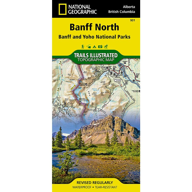 Banff North Map