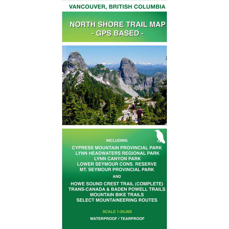North Shore Trail Map - cartographie GPS