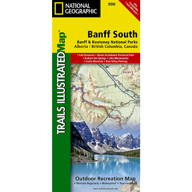 Banff South Map