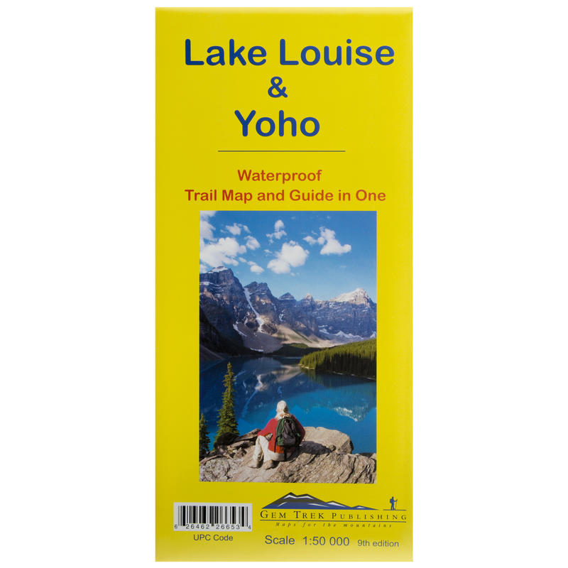 Lake Louise-Yoho Recreation Map 9th Edition