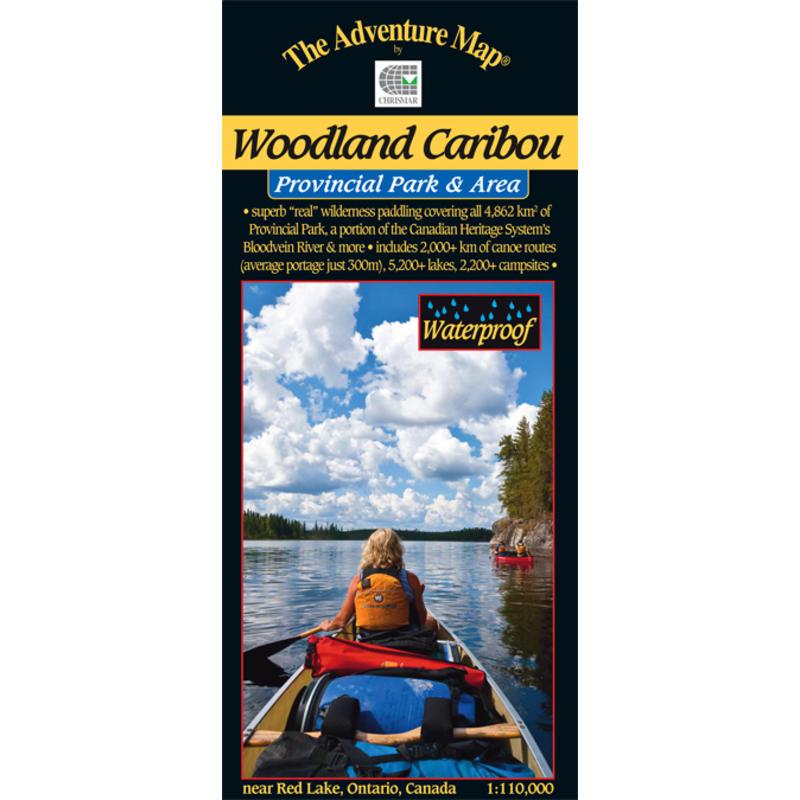Woodland Caribou Provincial Park Map