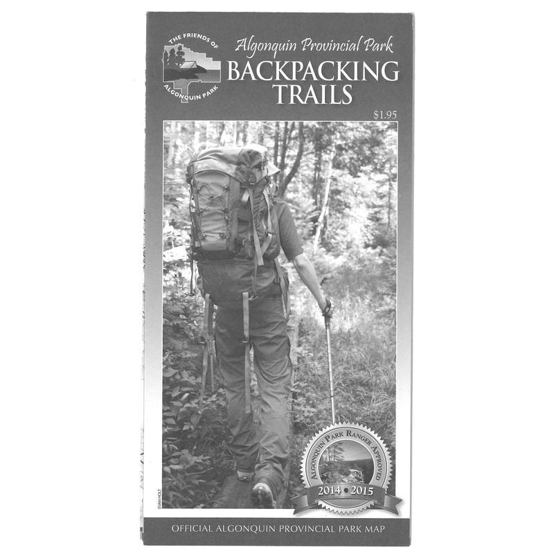 Algonquin Park Trail Map 2013 Edition