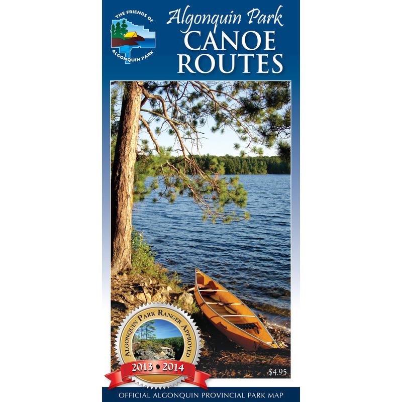 Algonquin Park Canoe Map 2013/2014 Edition