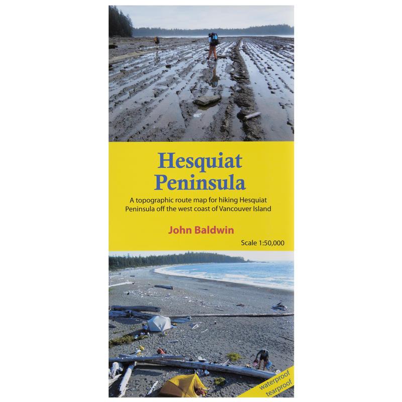 Hesquiat Peninsula Topographic Map
