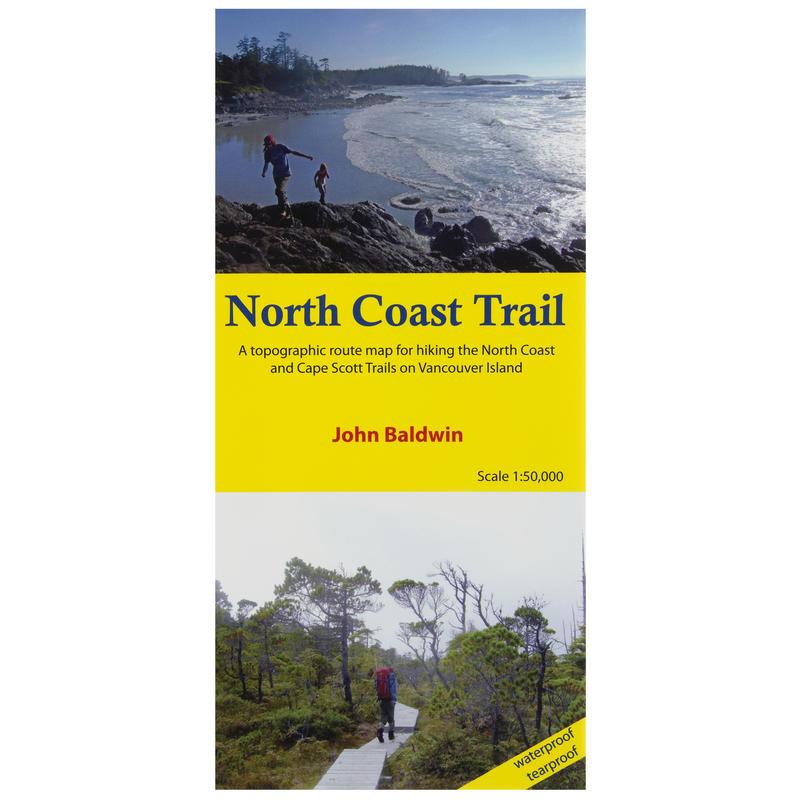 North Coast Trail Topographic Map