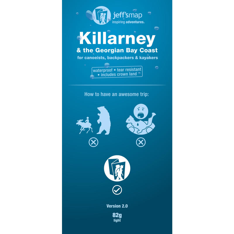 Killarney& Georgian Bay Coast Map 2nd Edition