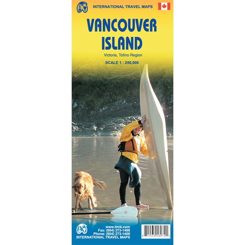 Vancouver Island Map 3rd Edition