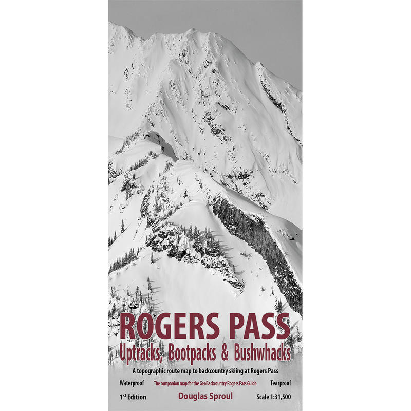 Rogers Pass Map