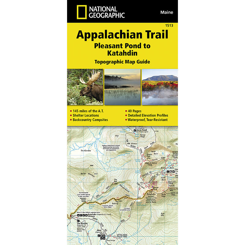 Appalachian Trail -Pleasant Pond to Mount Katahdin