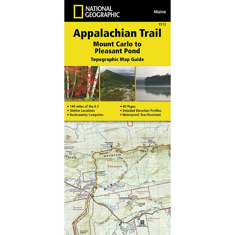 Appalachian Trail - Mount Carlo to Pleasant Pond