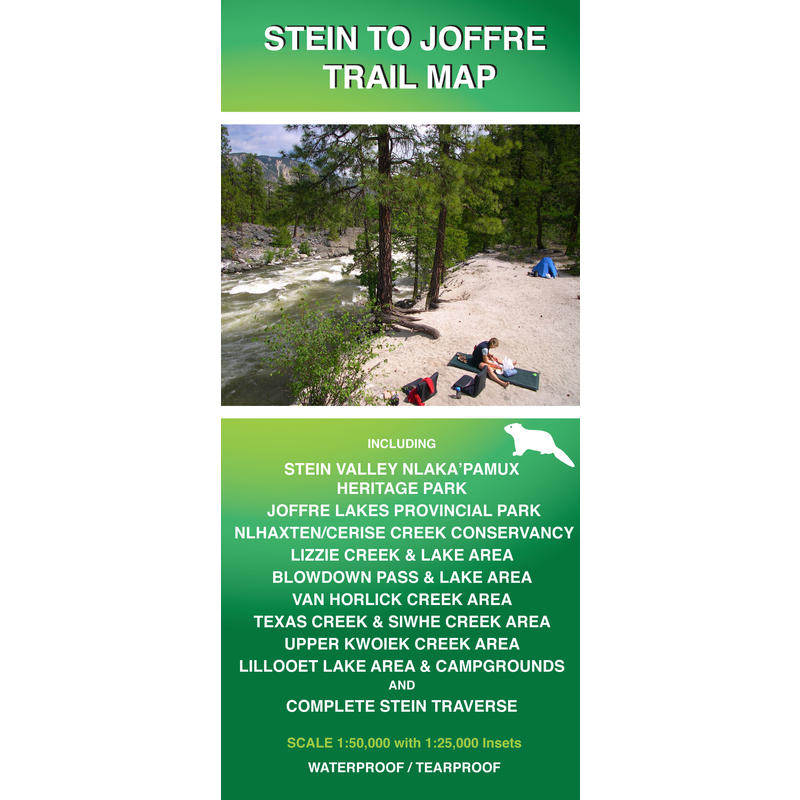 Stein to Joffre Trail Map