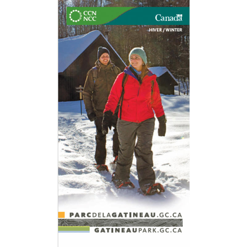 Gatineau Park Winter Trails Map