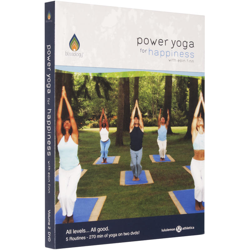 Power Yoga for Happiness DVD Set