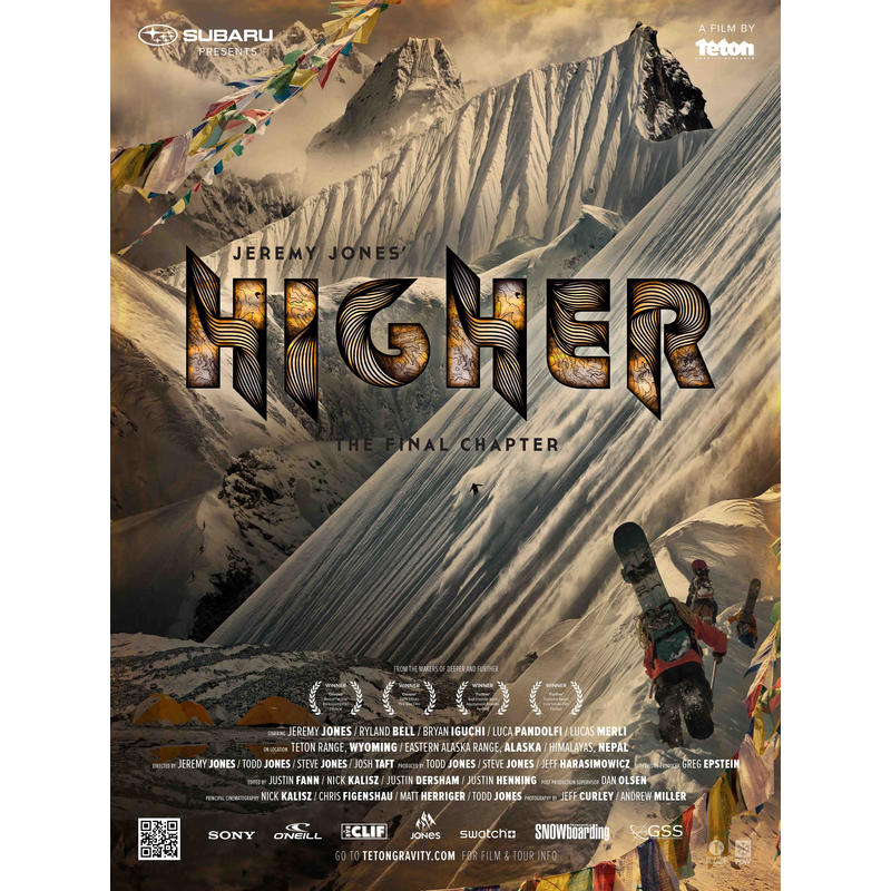 Jeremy Jones Higher DVD