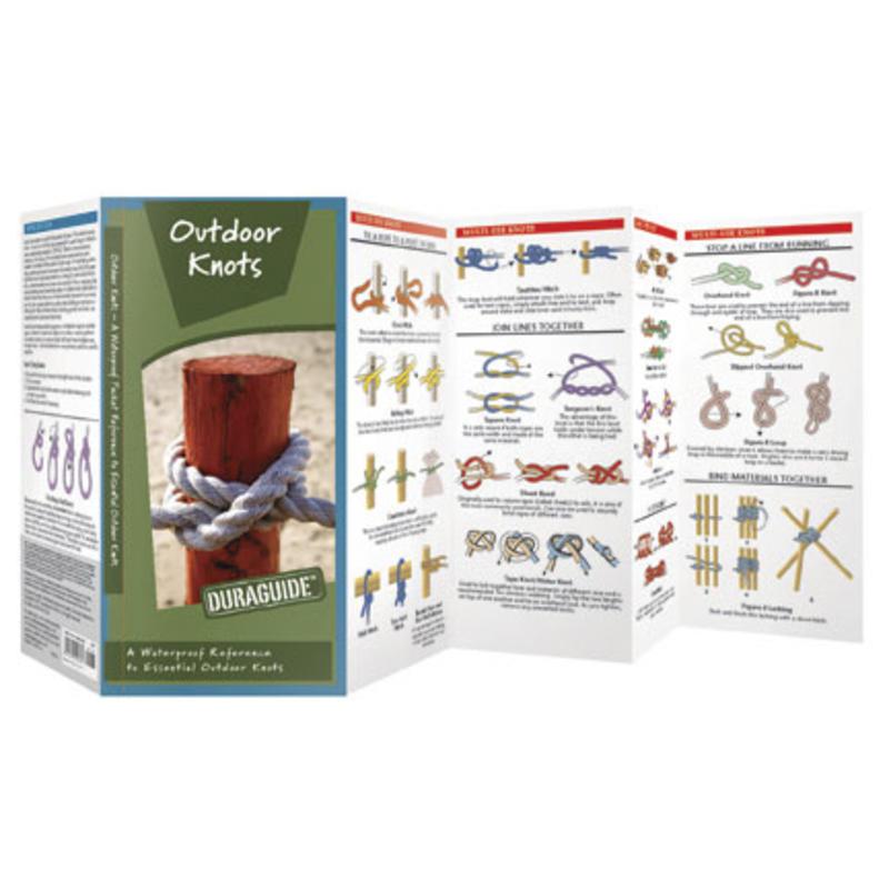 Guide de poche Outdoor Knots