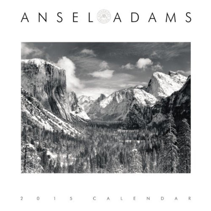 Calendrier de bureau 2015 Ansel Adams