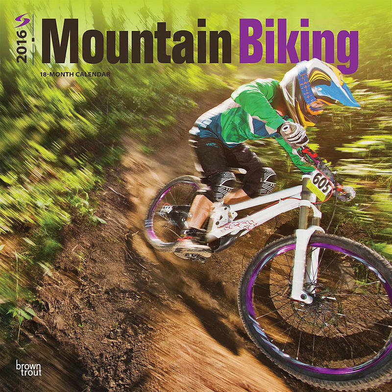 Calendrier Mountain Bike 2016