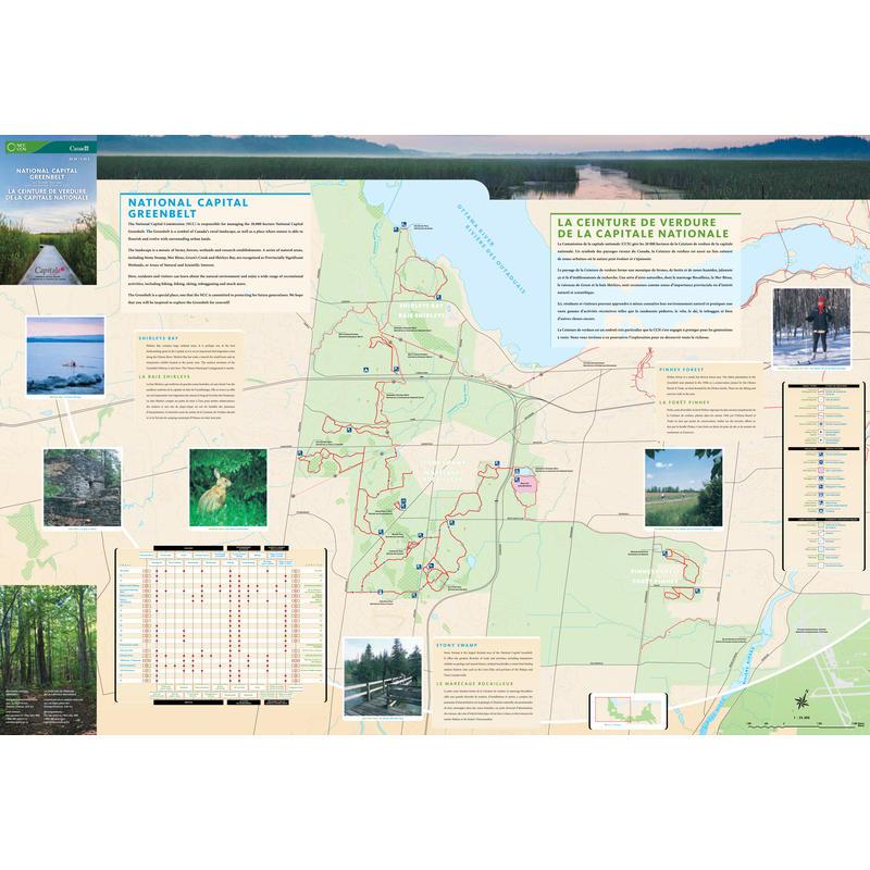 Greenbelt All Seasons Trail Map