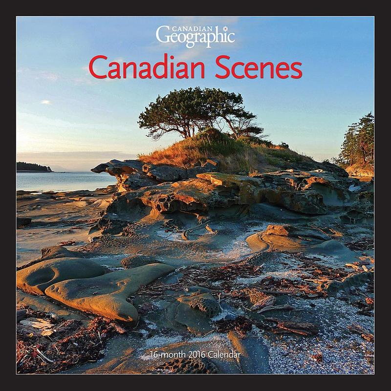 Calendrier Paysages canadiens 2016