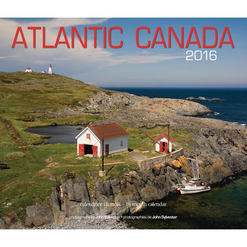Calendrier atlantique Canada 2016